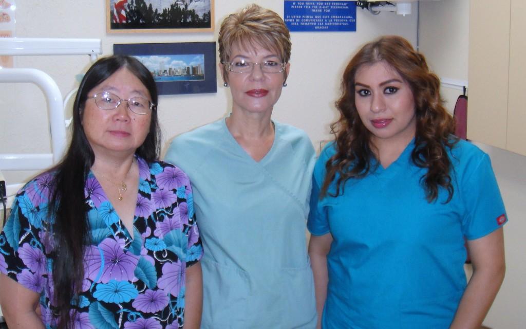 Brook Dental staff-Jean,Angie & Neli